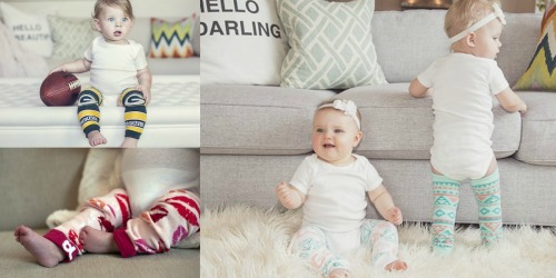 5 Pairs of Baby Leggings Only $14.99 Shipped ($3 Per Pair) – Valentines, Spring, NFL & More