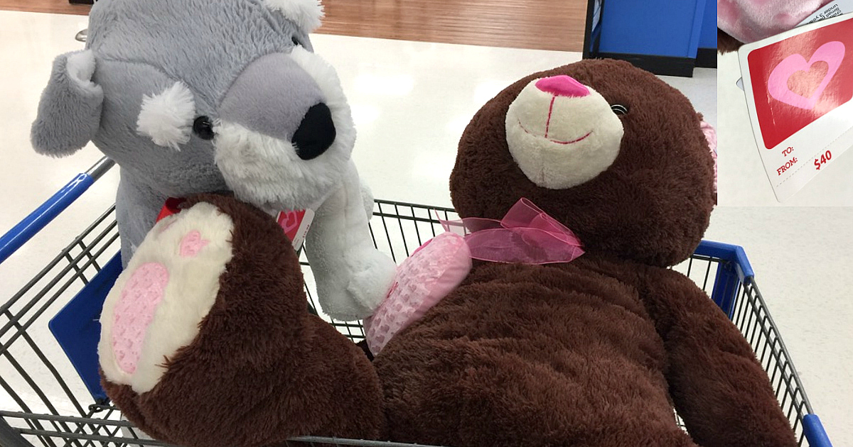 Baby Net For Stuffed Animals, Walmart 50 Off Valentine S Day Clearance Possible Jumbo Bears Only 5 Reg 40 Hip2save