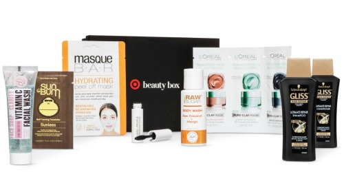 Target: February Beauty Box Only $7 Shipped ($38 Value)