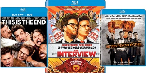 Amazon: Blu-ray Movies Only $4.99 (This is The End, The Interview, Seven Psychopaths & More)