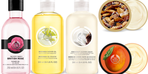 The Body Shop: 40% Off Hundreds of Items + Free Shipping on ANY Order & Free Gift w/ $50 Purchase