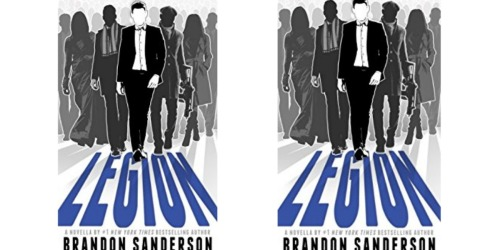 Amazon: Legion by Brandon Sanderson Kindle eBook Only $2.99 (+ Audible Narration $2 More)