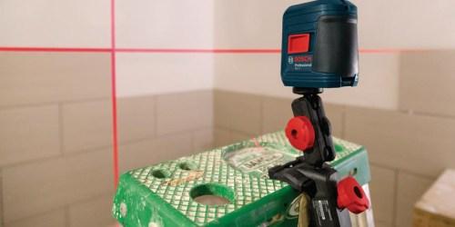 HomeDepot.com: Bosch Laser Measure Leveling Combo Kit Only $79 Shipped (Regularly $149)