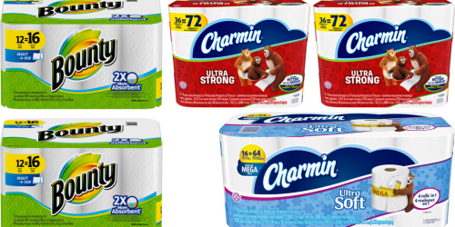 Six NEW Charmin & Bounty Coupons