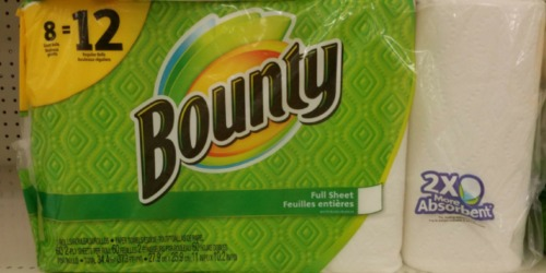 Target: Bounty Paper Towels Only 81¢ Per GIANT Roll + More