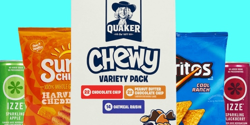 Boxed.com: $10 Off FIVE Select PepsiCo Products = Chips, Popcorn & More Just $12.45 Shipped