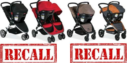 Britax Recalls Over 675,000 Click & Go Strollers