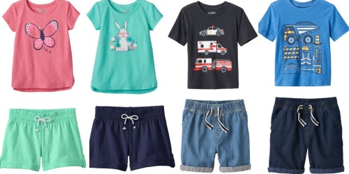 Kohl's Cardholders: Jumping Beans Toddler Shirts, Shorts, Skirts & More Just $3.92 Shipped