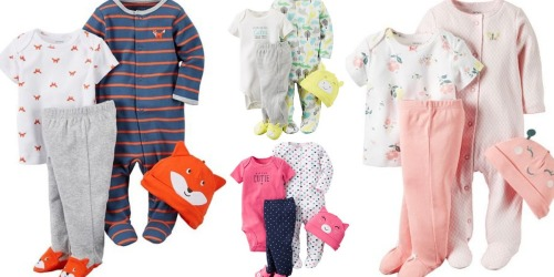 Kohl's Cardholders: Carter's Baby Sleep & Play 4-Piece Sets Only $7.28 Shipped (Regularly $26)