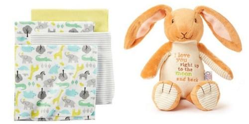 Kohls Cardholders: Baby Carter's 4-pk. Receiving Blankets $8.95 Shipped & More