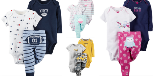 SIX 3-Piece Carter's Sets Only $54.60 Shipped (Regularly $132) – Just $9.10 Per 3-Piece Set