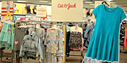 Target: 25% Off Cat & Jack Girl's Dresses = Only $7.49 Each (+ Online Clearance Deals)