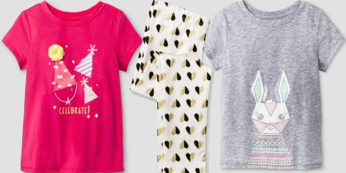 Target.com Cat & Jack Clearance: Tees Only $2.25, Leggings Only $2.50 & Much More