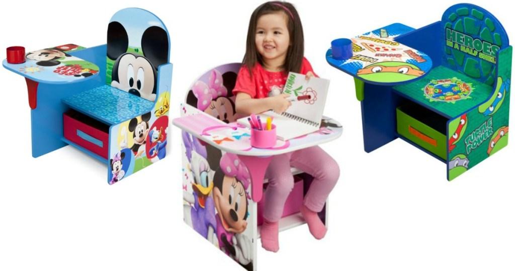 Awe Inspiring Character Toddler Desks Only 29 Each Hip2Save Creativecarmelina Interior Chair Design Creativecarmelinacom