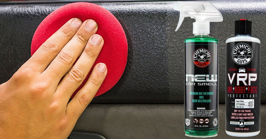 Amazon: Chemical Guys New Car Smell Odor Eliminator $5 68