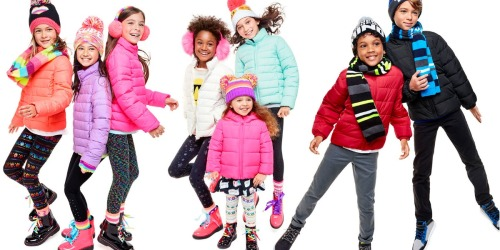 The Children's Place: 75% Off Clearance + Free Shipping = Puffer Jackets $12.48 Shipped + More