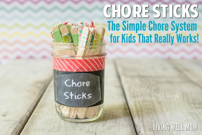 DIY Chore Sticks