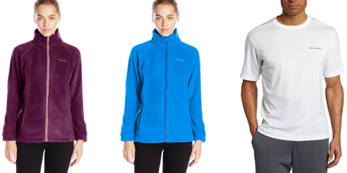 Amazon: Women's Columbia Jackets As Low As $14.38 + Men's Columbia Shirt Only $8.99