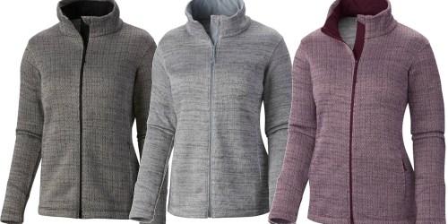 Columbia.com: Women's Herringbone Jacket Only $34 Shipped (Regularly $85)