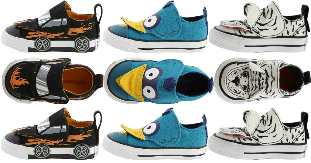 995ca927092f2f Converse Chuck Taylor Infant Toddler All-Star Creatures Shoes  11.87  Shipped (Regularly  35)