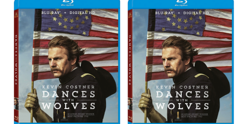 Dances With Wolves 25th Anniversary Blu-ray Only $5.99 (Regularly $9.49)