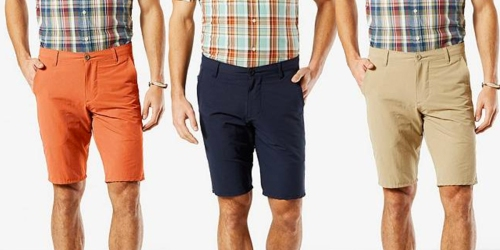 WOW! Dockers Men's Shorts Only $5.98, Long Sleeved Shirts Only $8.98 & More