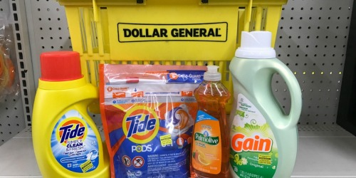 8 Household & Personal Care Items Only $5.20 at Dollar General | Valid March 13th Only – Just Use Your Phone!