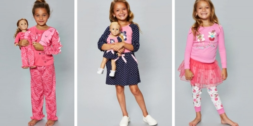 Dollie & Me: Girls & Dolls Matching Apparel Sets Only $14.99 (Regularly $34)