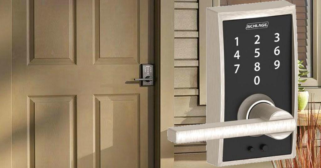 Home Depot: 60% Off Door Hardware = Schlage Keyless