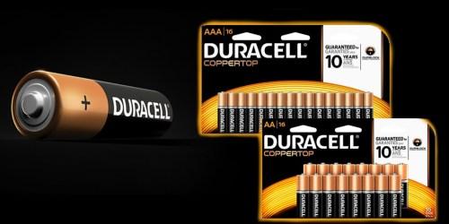 Office Depot/OfficeMax: 1¢ Duracell Batteries & Cheap Paper After Bonus Rewards