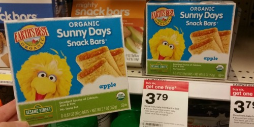 Target Shoppers! Save on Earth's Best and Ella's Kitchen Organic Items