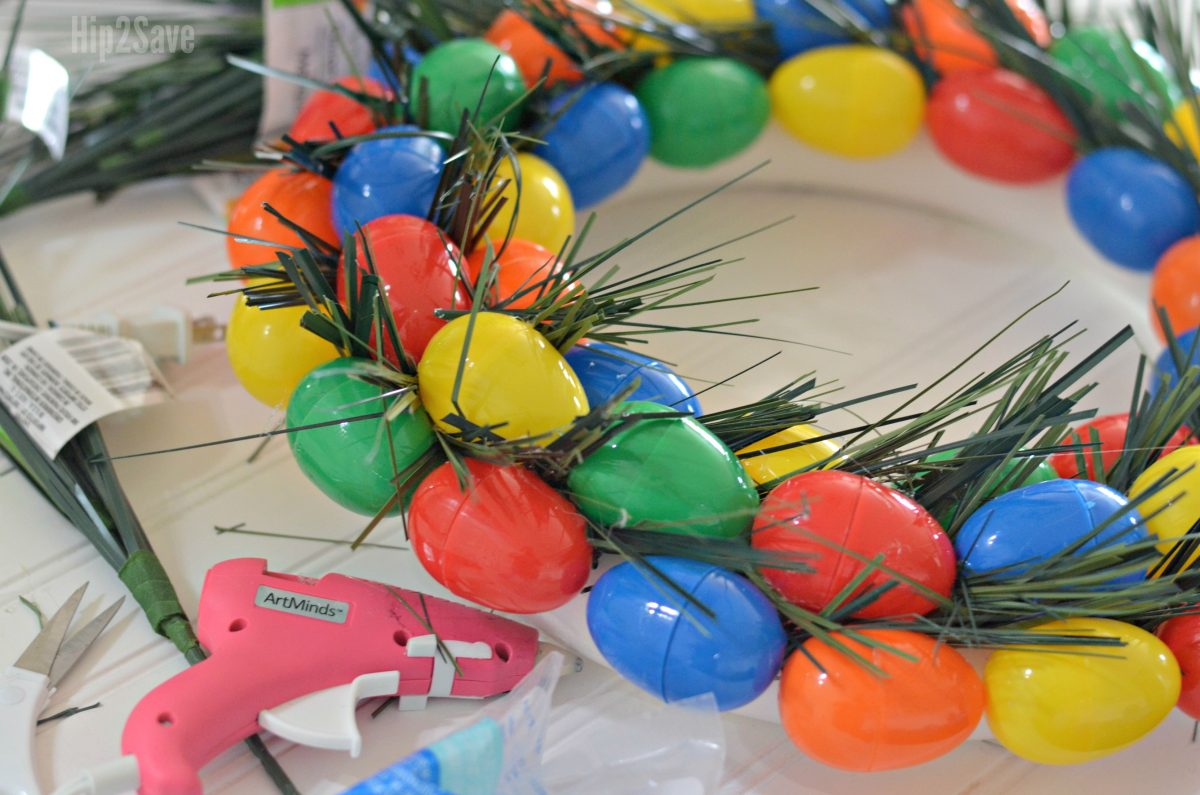 easter-wreath-using-faux-grass