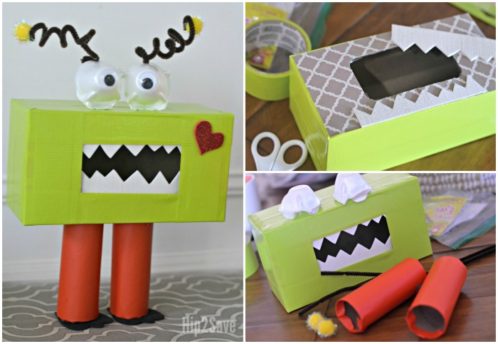 Creative Valentine S Day Box Ideas Monster And Emoji Themed Hip2save