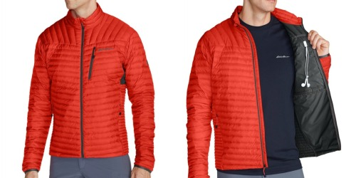 Eddie Bauer: Extra 50% Off Clearance = Men's Down Jacket ONLY $65 (Regularly $200) & More