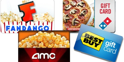 Best Buy: FREE $5 Best Buy Gift Card with $50 Entertainment Card Purchase