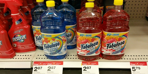 Target: Free $5 Gift Card with Purchase of FOUR Select Cleaning Items (Fabuloso, Ajax & More)