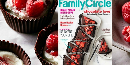 FREE 1-Year Subscription to Family Circle Magazine
