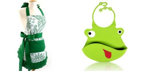 Flirty Apron Flash Sale: Women's Apron Only $9.99 Shipped & Baby Bib Only $3.99 Shipped