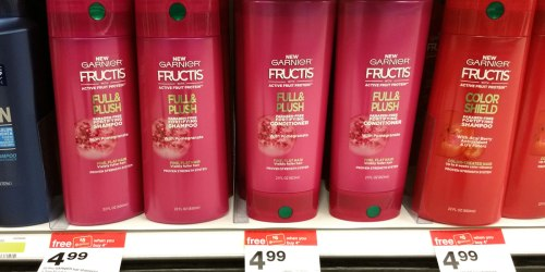 Target: Garnier Fructis Hair Products Large Bottles Just $1.74 Each When You Buy 4 (Regularly $4.99)