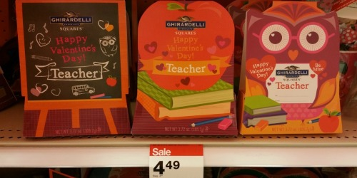 Target: Ghirardelli Valentine Gifts for Teachers Just $3.59 & More Candy Deals