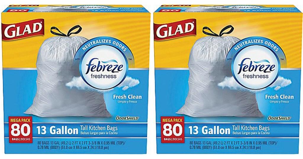 glad trash bags