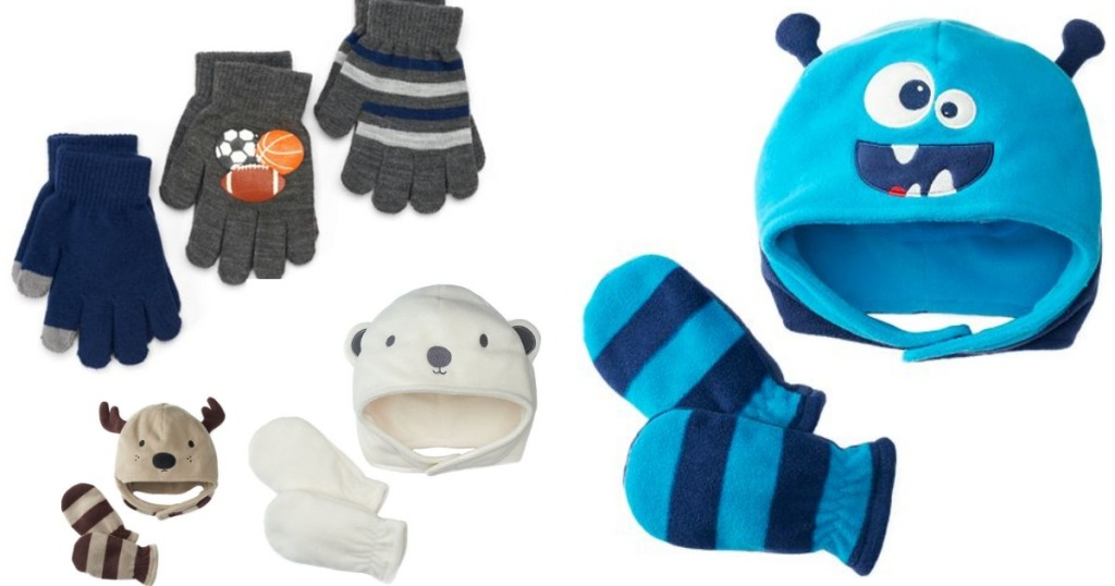 c02d5eca098 Head on over to Kohl s.com where they are offering up lots of great deals  on boys  glove sets and hat and glove sets. In addition