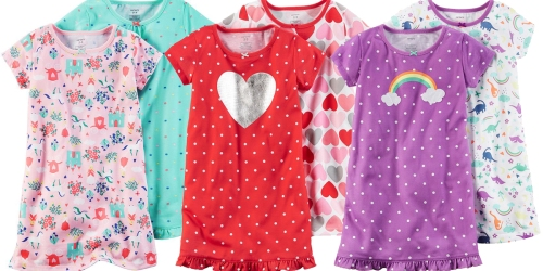 Kohl's Cardholders: 2 Pack of Carter's Nightgowns Only $8.40 Shipped (Just $4.20 Each)