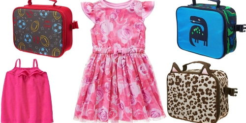 Spring.com: 20% Off + Free Shipping = $3.20 Gymboree Lunchboxes, $4 Girl's Dresses & More