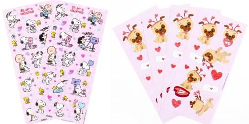 Amazon: Hallmark Valentine's Day Sticker Packs Only $2
