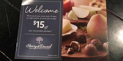 Harry & David: Possible $15 Off Coupon (Check Mailbox) = Chocolate Cherries $4.99 Shipped