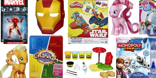 Hasbro Toy Shop: 10% Off & Free Shipping = $2.24 My Little Pony Figures, $4.49 Marvel Avengers Toys…