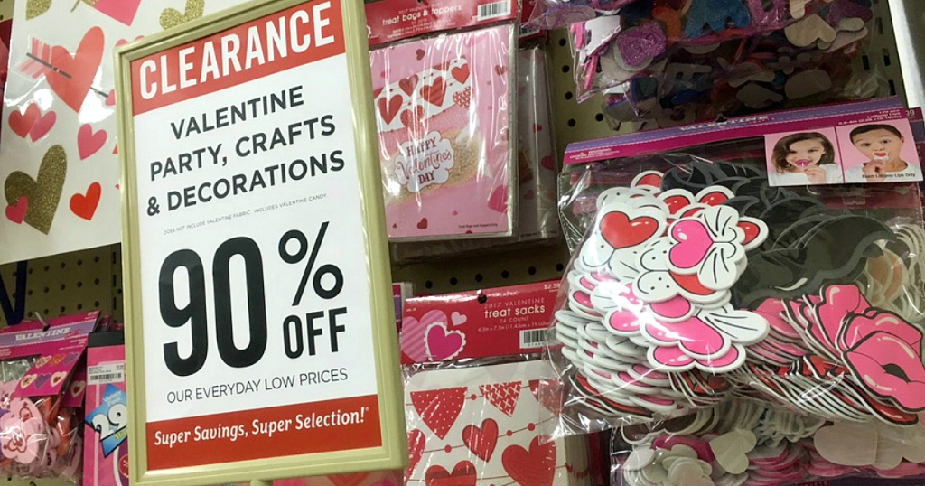 Hobby Lobby 90 Off Valentine S Day Clearance Hip2save
