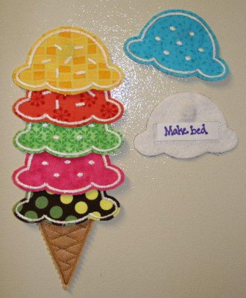 Ice Cream Cone DIY Chore Chart