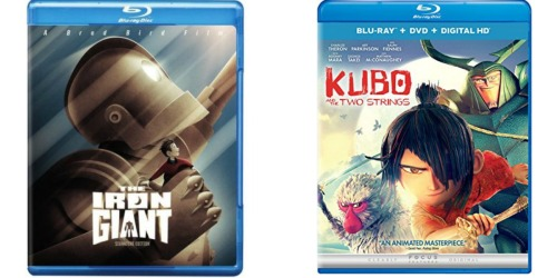 The Iron Giant Blu-ray Only $8.99 + Kubo and The Two Strings Blu-ray + DVD + Digital HD Only $11.99